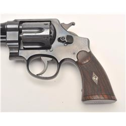 Smith and Wesson 1st Model Hand Ejector  revolver, .44 S&W Special caliber, Serial  #13337.  The pis