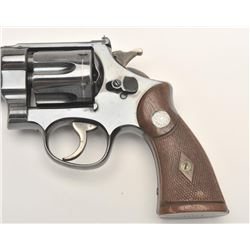 "Smith and Wesson Pre-Model 27 ""Unregistered""  revolver, .357 Magnum caliber, Serial #61226.   The pi"