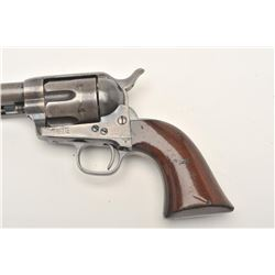 "Colt SAA revolver, London barrel address, in  very rare .45 Eley Short caliber, 5.5""  barrel, blued"