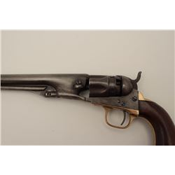 "Colt Model 1862 Police percussion revolver,  .36 caliber, serial #27891, desirable 6 ½""  barrel, woo"
