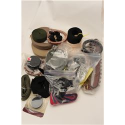 Lot of sling and straps including several  good Weatherby sling with quick detachable  mounts. Est.: