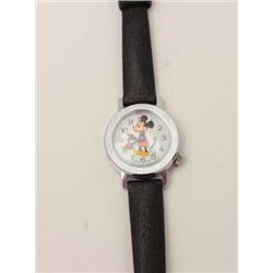 Bradley Swiss made original Mickey Mouse  wristwatch, ca 1970's, bobbing head, offset  wind, with le
