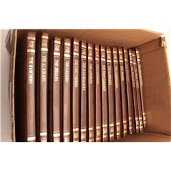 "Set of 16 book volumes of the Time Life  Series ""The Old West"".  Great reference for  the Western hi"
