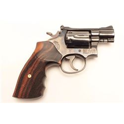 "Smith & Wesson Model 15-3 DA revolver, .38  S&W Special caliber, desirable 2"" barrel,  blued finish,"