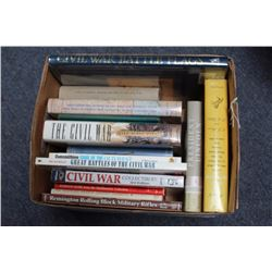 "Bonanza lot of 17 hardback reference books  including ""Civil War Battle Flags"" by Gen. C.  McKeever;"