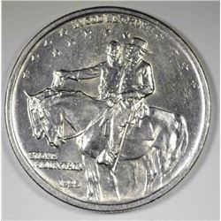 1925 STONE MOUNTAIN HALF DOLLAR, CH BU+