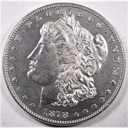 1878 REV OF 78 MORGAN DOLLAR CH BU SEMI PL