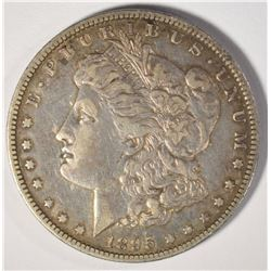 1895-O MORGAN DOLLAR, VF/XF KEY DATE