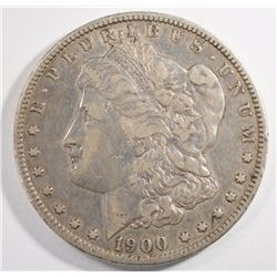1900-O/CC MORGAN DOLLAR XF-AU SEMI-KEY  NICE