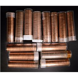 BU LINCOLN CENT ROLL LOT;