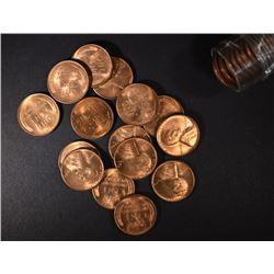 1948-S BU LINCOLN CENT ROLL