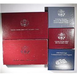 5-SILVER COMMEMORATIVE COIN SETS