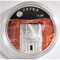 2008 3/4 oz Silver New 7 Wonders of the World