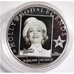 2012 Cook Islands $5 Dollar Hollywood Legends