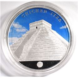 3/4 OZ SILVER COIN 2008 New 7 Wonders
