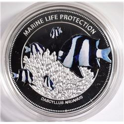 Palau 2015 5$ Marine Life Protection Whitetail