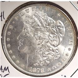 1878 7TF REV 78 MORGAN DOLLAR