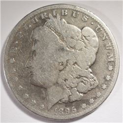 1895-O MORGAN SILVER DOLLAR - G/VG
