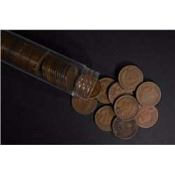 ROLL OF INDIAN CENTS ALL 1897 OR OLDER