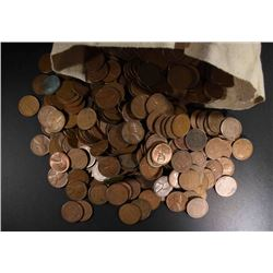 5000 MIXED DATE CIRC LINCOLN WHEAT CENTS