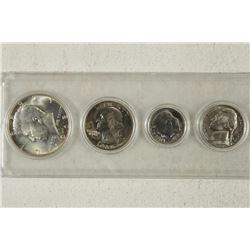1968-D US YEAR SET UNC HALF IS 40%  SILVER