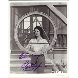 Elizabeth Taylor Signed 8x10 Photo