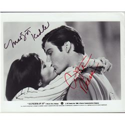 Christopher Reeve Margot Kidder Signed 8x10 Photo