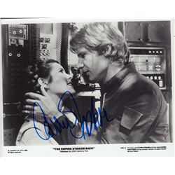 Carrie Fisher The Empire Strikes Back Signed 8x10 Photo