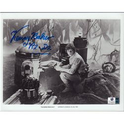 Kenny Baker The Empire Strikes Back Signed 8x10 Photo