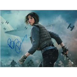 Felicity Jones Star Wars Signed 8x10 Photo