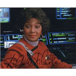 Star Trek Nichelle Nichols Signed 8x10 Photo