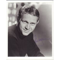 Steve McQueen Signed 8x10 Photo