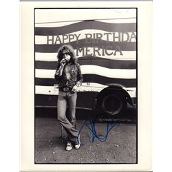 Robert Plant Signed 8x10 Photo