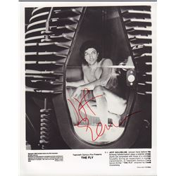 Jeff Goldblum The Fly Signed 8x10 Photo