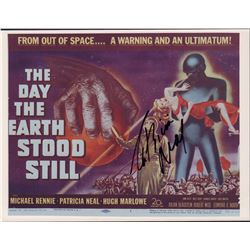 Patricia Neal The Day the Earth Stood Still Signed 8x10 Photo