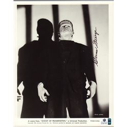 Glenn Strange Ghost of Frankenstein Signed 8x10 Photo