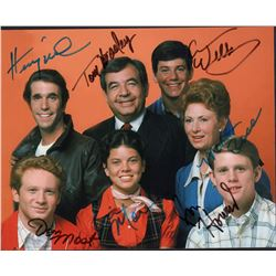 Happy Days Cast Signed 8x10 Photo