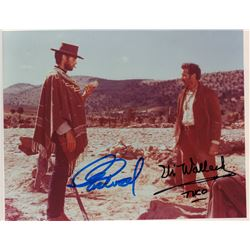 Clint Eastwood Eli Wallach The Good, The Bad, and The Ugly Signed 8x10 Photo