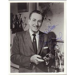 Walt Disney Signed 8x10 Photo
