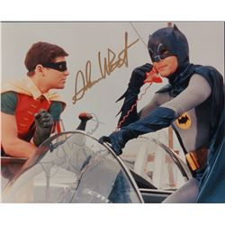 Adam West Burt Ward Batman Signed 8x10 Photo