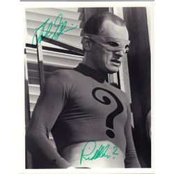 Frank Gorshin Batman Signed 8x10 Photo