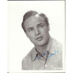 Marlon Brando Signed 8x10 Photo
