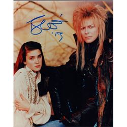 David Bowie Labyrinth Signed 8x10 Photo