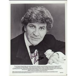Robert Preston Victor/Victoria Signed 8x10 Photo