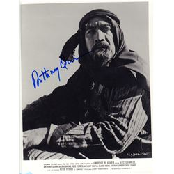 Anthony Quinn Lawrence of Arabia Signed 8x10 Photo