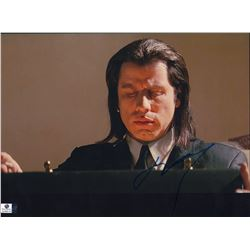 John Travolta Pulp Fiction Signed 11x14 Photo