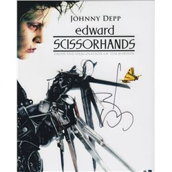 Johnny Depp Edward Scissorhands Signed 11x14 Photo