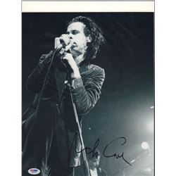 Nick Cave Signed 11x14 Photo