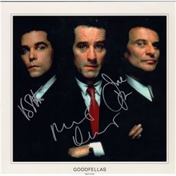 Goodfellas Cast Signed 12x12 Photo