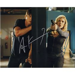 Ashton Kutcher Katherine Heigl Killers Signed 11x14 Photo